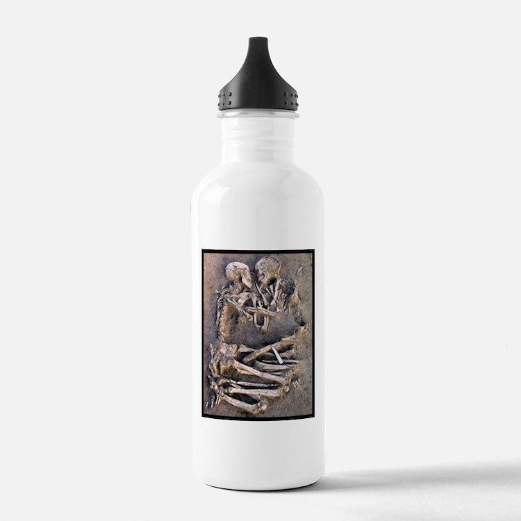 Necromance Skeleton Romance Goth Dark Art Water Bo