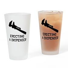 Erecting a Dispenser Drinking Glass