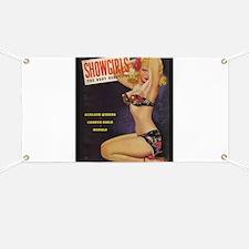 Showgirls Retro Pin Up Burlesque Dancer Banner