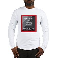 incase-of-emo Long Sleeve T-Shirt