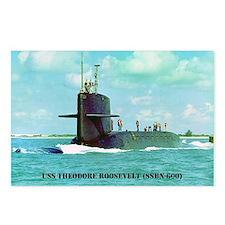 troosevelt greeting card Postcards (Package of 8)