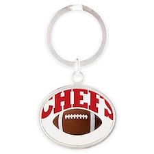 Chefs Oval Keychain