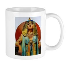 Cleopatra Flapper Art Deco Glamorous Pin Up Mugs