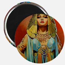 Cleopatra Flapper Art Deco Glamorous Pin Up Magnet