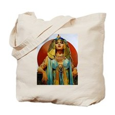 Cleopatra Flapper Art Deco Glamorous Pin Up Tote B