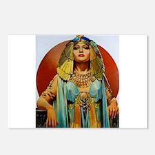 Cleopatra Flapper Art Deco Glamorous Pin Up Postca