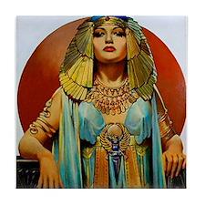 Cleopatra Flapper Art Deco Glamorous Pin Up Tile C