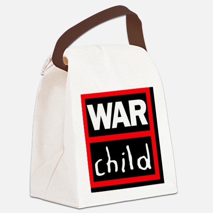 warchildlogo Canvas Lunch Bag