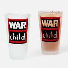 warchildlogo Drinking Glass
