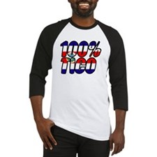100% tico costa rica Baseball Jersey