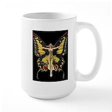 Art Deco Butterfly Flapper Jazz Age 1920s Mugs