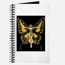 Art Deco Butterfly Flapper Jazz Age 1920s Journal