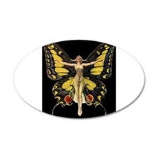 Art Deco Butterfly Flapper Jazz Age 1920s Wall Dec