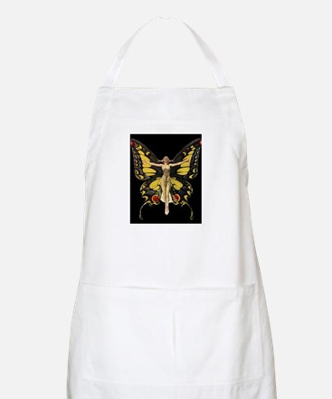 Art Deco Butterfly Flapper Jazz Age 1920s Apron