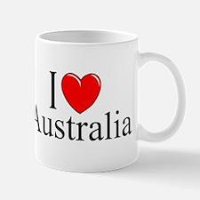 """I Love Australia"" Mug"