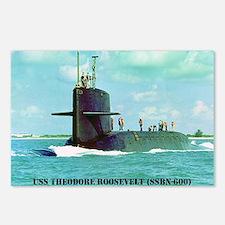 troosevelt sticker Postcards (Package of 8)