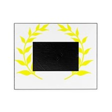 Marathon Leaves Yellow Picture Frame