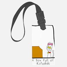 Box Full of Katydids Luggage Tag
