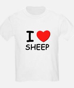 I love sheep Kids T-Shirt