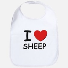 I love sheep Bib