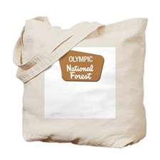 Olympic (Sign) National Fores Tote Bag