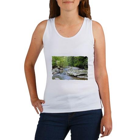 T-Shirt-03D Women's Tank Top