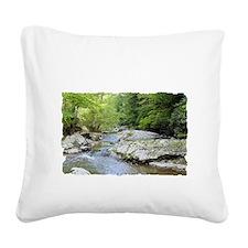 T-Shirt-03D Square Canvas Pillow