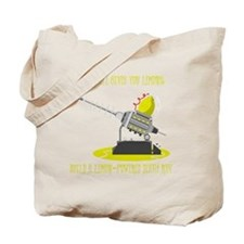 Lemon Powered Death Ray Tote Bag