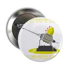 "Lemon Powered Death Ray 2.25"" Button"