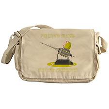 Lemon Powered Death Ray Messenger Bag