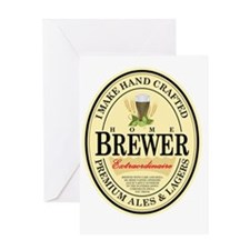 Home Brewer Greeting Card
