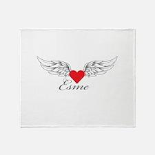 Angel Wings Esme Throw Blanket