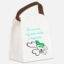duplicate_green Canvas Lunch Bag