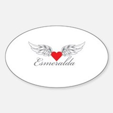 Angel Wings Esmeralda Decal