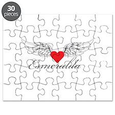 Angel Wings Esmeralda Puzzle