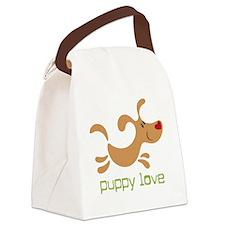 puppylove Canvas Lunch Bag