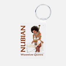 Nubian Warrior Queen2 Keychains