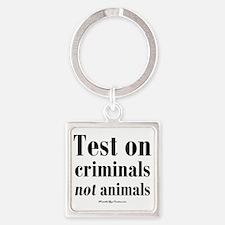 testcriminals_sq Square Keychain