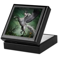 Grey Pegasus Keepsake Box