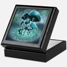 Mystic Mushrooms Keepsake Box