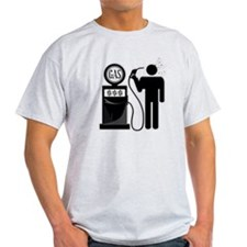 High Gas Prices Suicide Pump T-Shirt