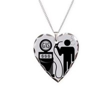 High Gas Prices Suicide Pump Necklace