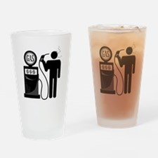 High Gas Prices Suicide Pump Drinking Glass