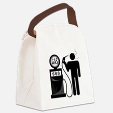 High Gas Prices Suicide Pump Canvas Lunch Bag