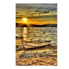 Sun Set over the lake Postcards (Package of 8)