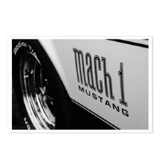 American Muscle Postcards (Package of 8)