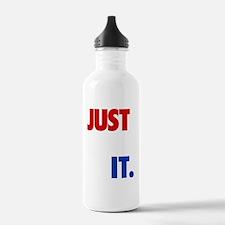 JUST DID IT RWB.gif Water Bottle