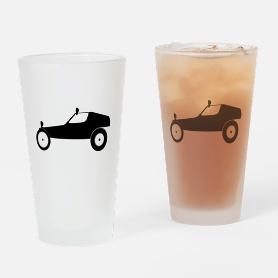 Vintage RC Buggy Drinking Glass