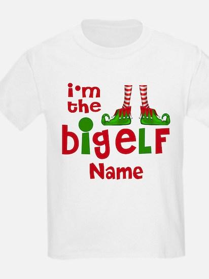 Big Elf Christmas Personalized T-Shirt