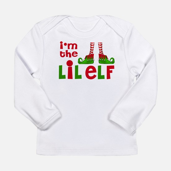 Little Elf Christmas Long Sleeve T-Shirt